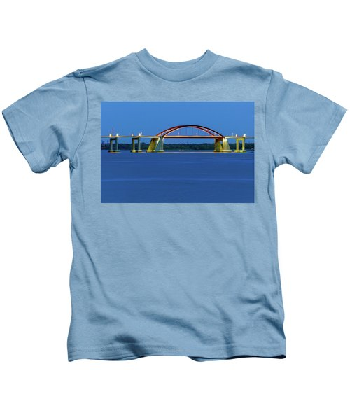 Night Bridge Kids T-Shirt