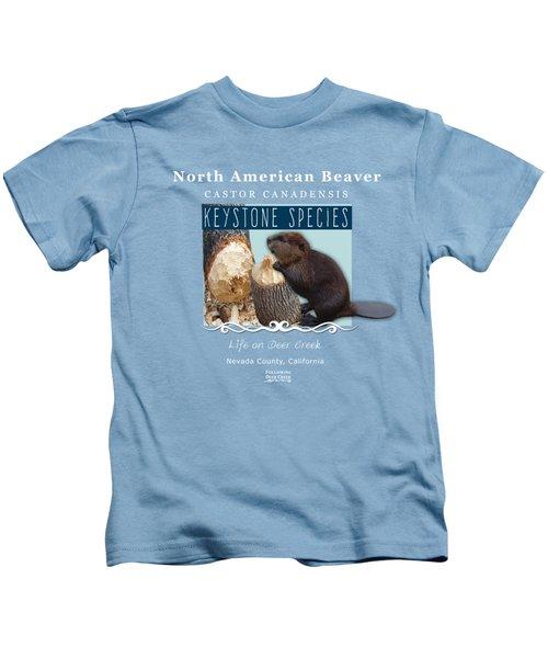 North American Beaver Kids T-Shirt