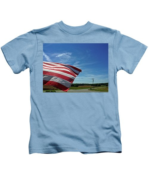 Peaceful Summer Day Kids T-Shirt