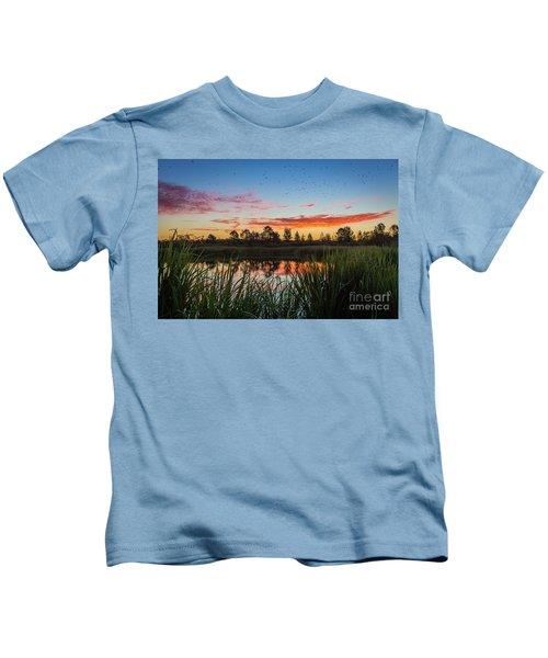 Phinizy Swamp Sunrise - Augusta Ga Kids T-Shirt