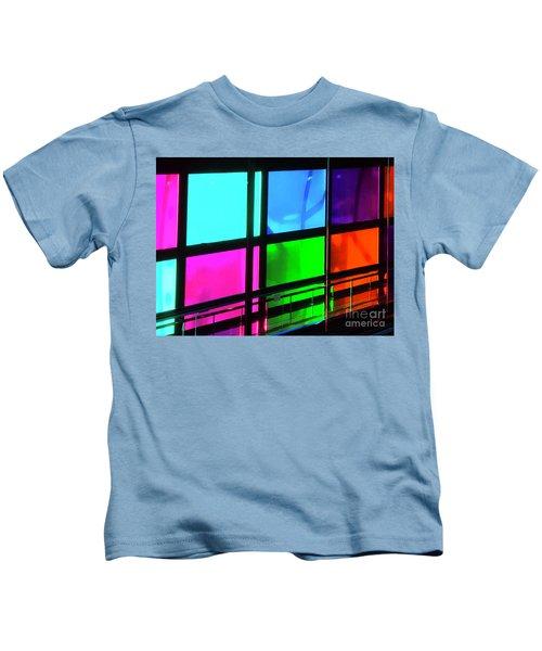 Polychrome Passageway Kids T-Shirt