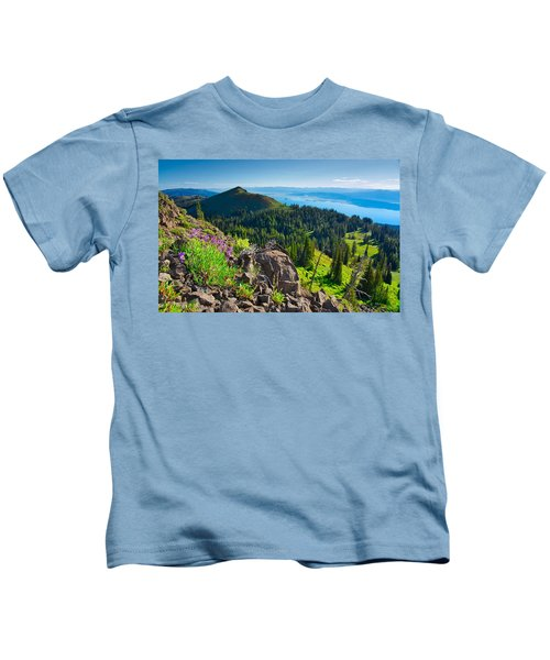 Purple Vista Kids T-Shirt