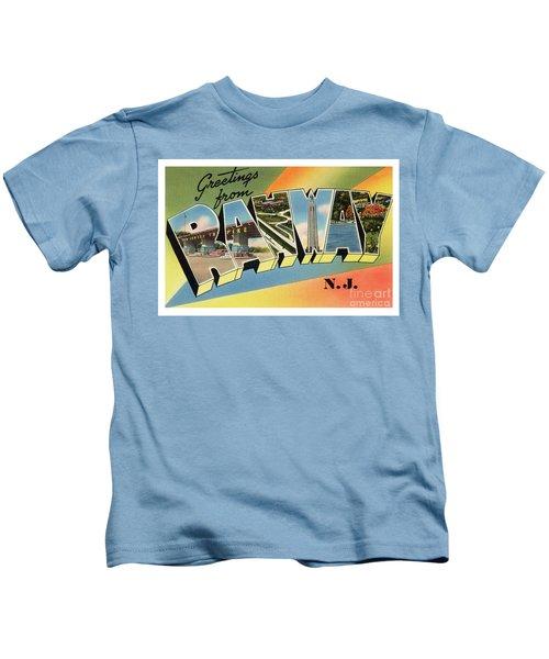 Rahway Greetings Kids T-Shirt