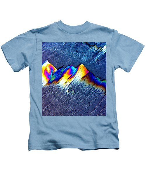 Rainbow Mountains Kids T-Shirt