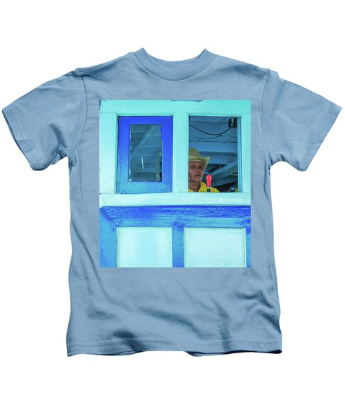 Ready To Go Into Warp Drive Kids T-Shirt