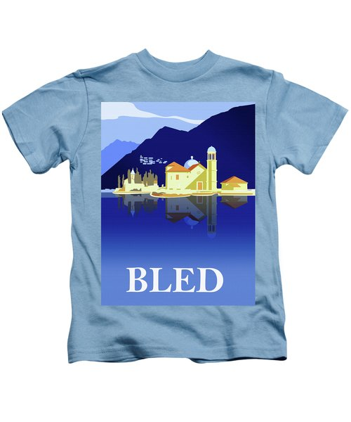 Reflections Of Blade Lake Kids T-Shirt