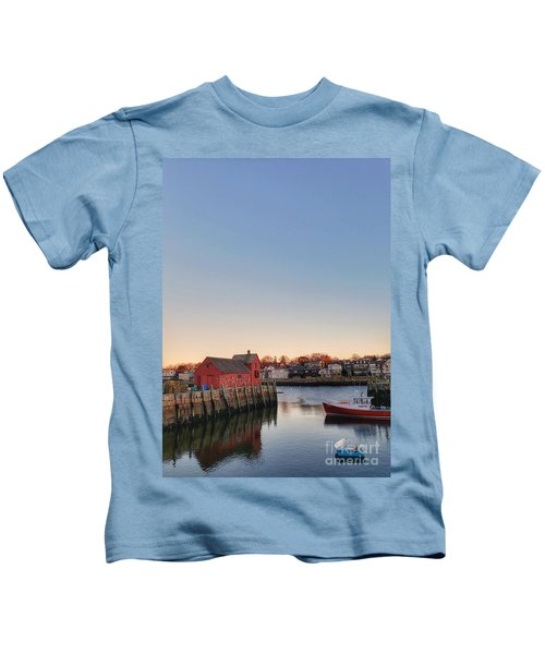 Rockport Massachusetts  Kids T-Shirt