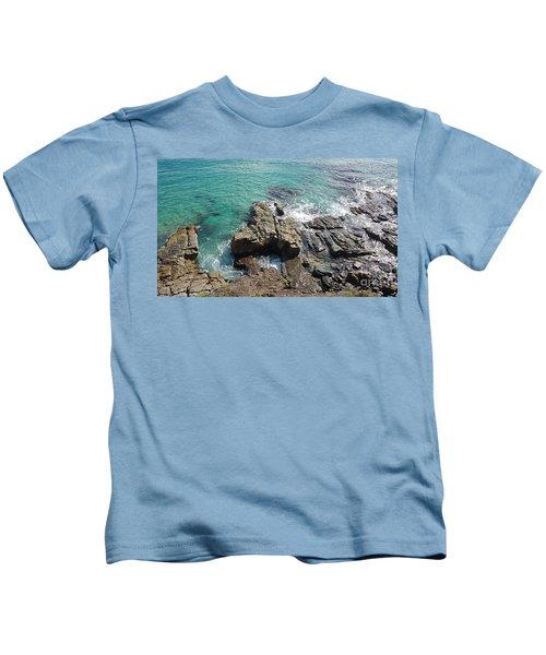 Rocks And Water Kids T-Shirt