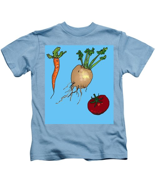 Root Vegetables Kids T-Shirt