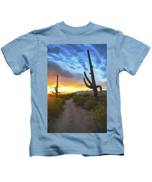 Saguaro Trail Kids T-Shirt