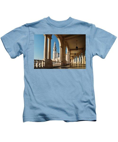 Sanctuary Of Fatima, Portugal Kids T-Shirt