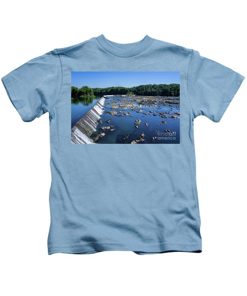 Savannah River Rapids - Augusta Ga 2 Kids T-Shirt