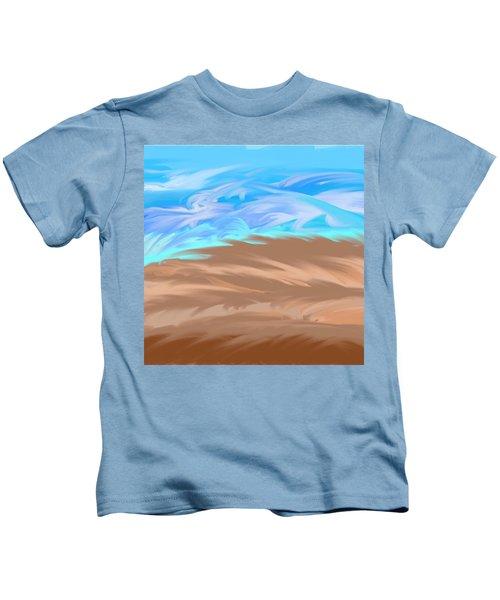 Scattered Mounts Kids T-Shirt