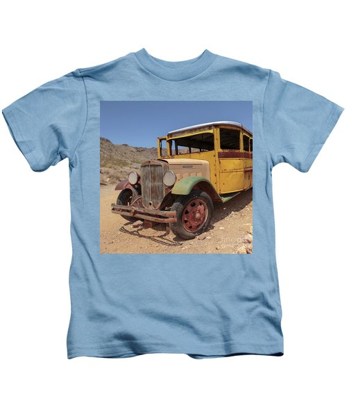 School Is Out For Summer Square Kids T-Shirt