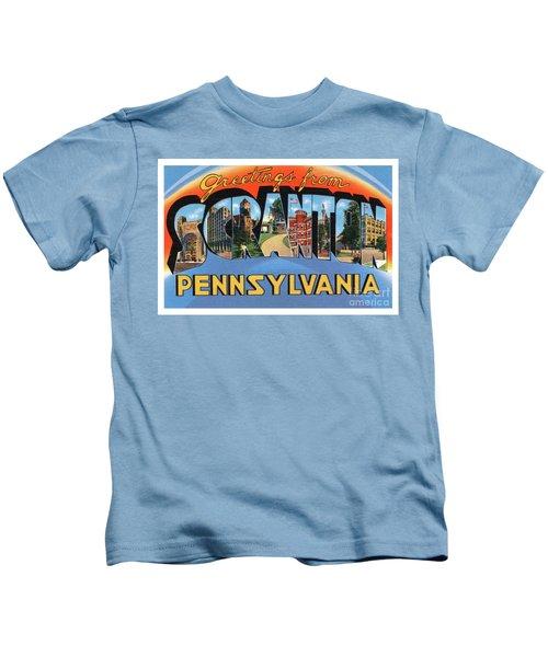 Scranton Greetings Kids T-Shirt