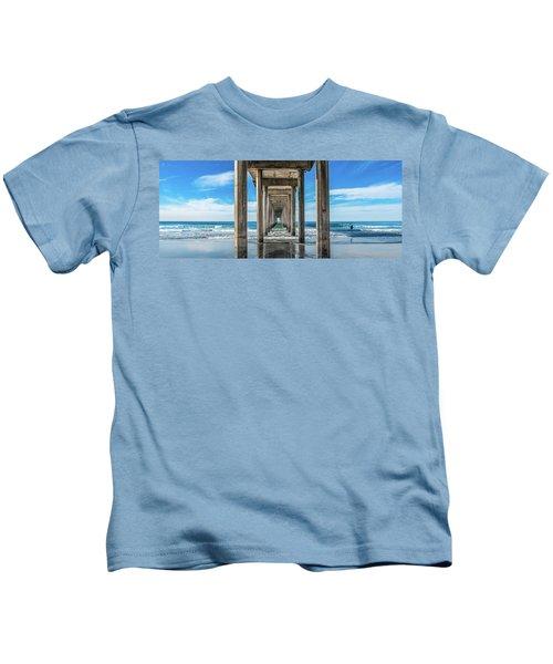 Scripps Pier La Jolla California Kids T-Shirt