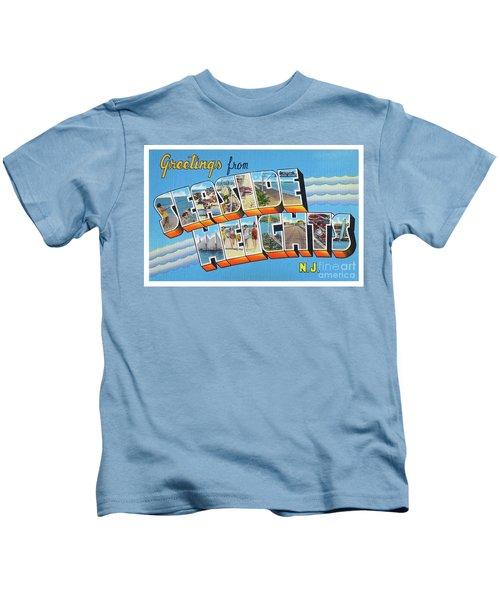 Seaside Heights Greetings Kids T-Shirt