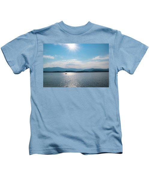 Shadow Mountain Lake Kids T-Shirt
