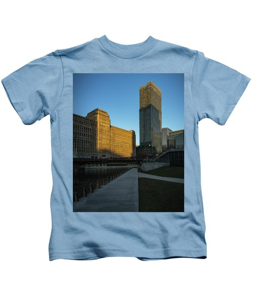 Shadows Of The City Kids T-Shirt