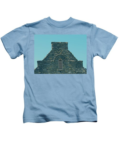 Stone Topper On Building Kids T-Shirt