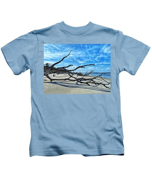 Stretch By The Sea Kids T-Shirt