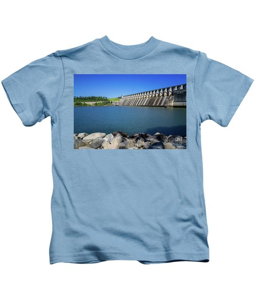 Strom Thurmond Dam - Clarks Hill Lake Ga Kids T-Shirt