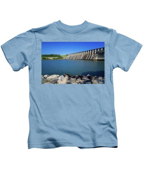 Strom Thurmond Dam - Clarks Hill Lake Ga Kids T-Shirt