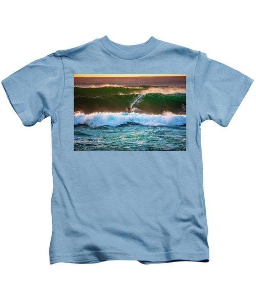 Sunset Ride Kids T-Shirt