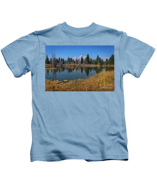 Tetons Majesty Kids T-Shirt