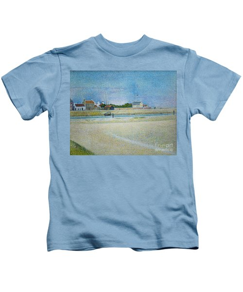 The Channel Of Gravelines Grand Fort Philippe Kids T-Shirt