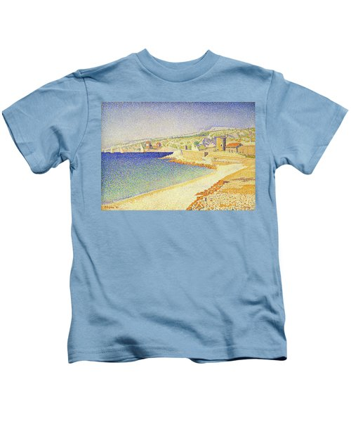 The Jetty At Cassis - Digital Remastered Edition Kids T-Shirt