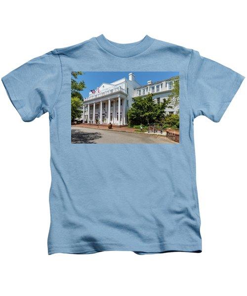 The Willcox Hotel - Aiken Sc Kids T-Shirt