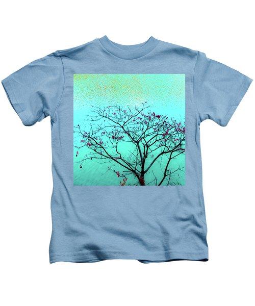 Tree And Water 1 Kids T-Shirt