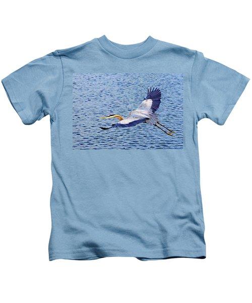 True Blue #3 Kids T-Shirt