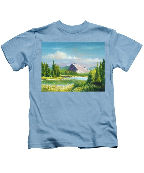 Tuolumme Meadows Spring Kids T-Shirt