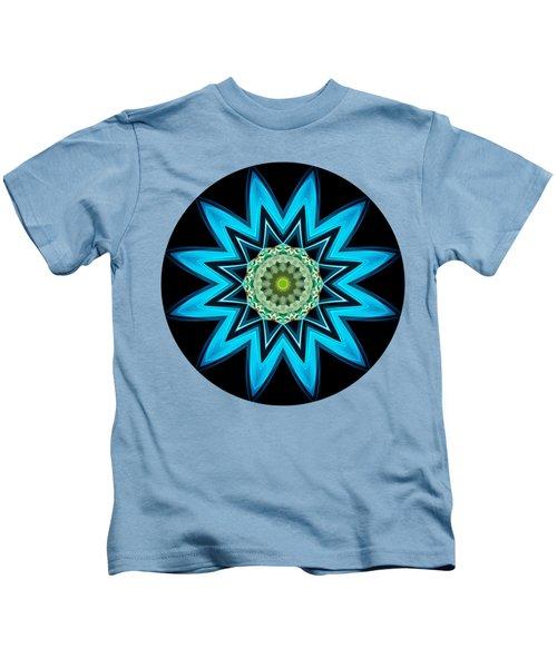 Turquoise Star Kids T-Shirt