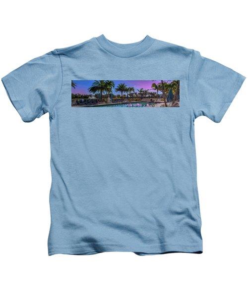 Twilight Pool Kids T-Shirt