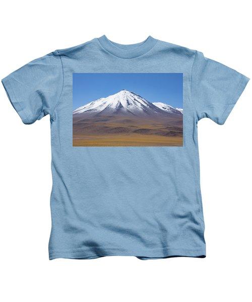 Volcano On The Altiplano Kids T-Shirt