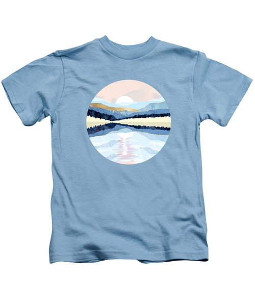 Winter Reflection Kids T-Shirt