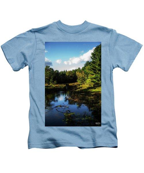 Wisconsin Waterscape Kids T-Shirt