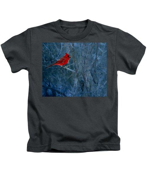 Northern Cardinal Kids T-Shirt