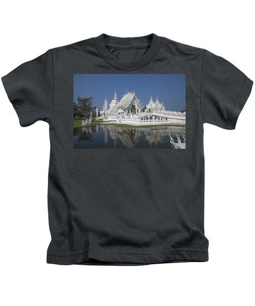 Wat Rong Khun Ubosot Dthcr0002 Kids T-Shirt