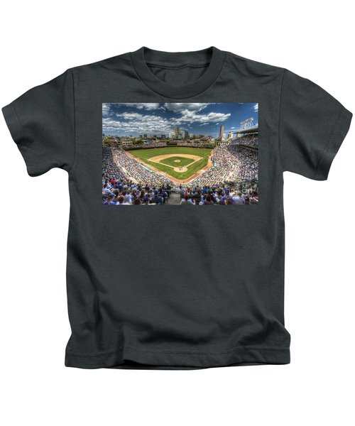 0234 Wrigley Field Kids T-Shirt