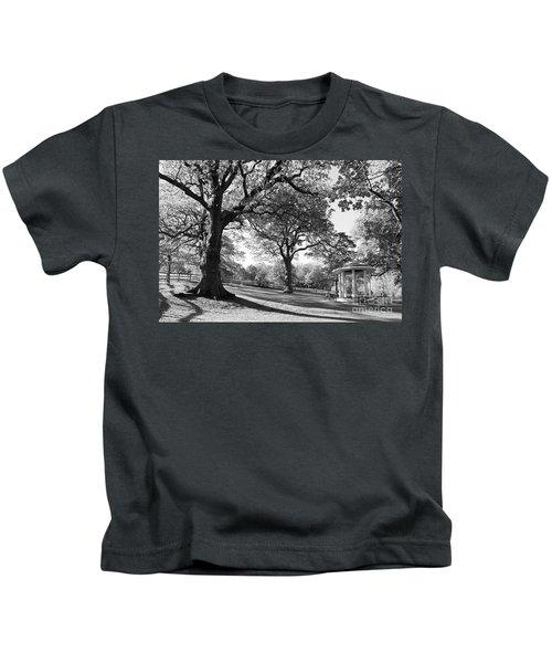 Autumn At Runnymede Uk Kids T-Shirt