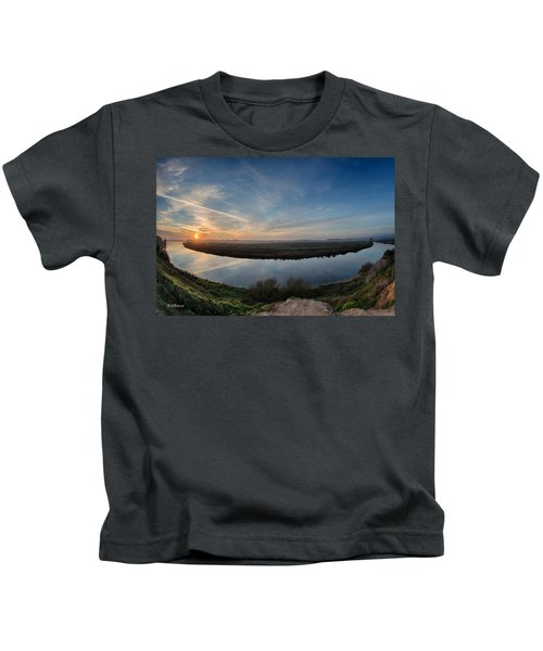Bend In The River Kids T-Shirt