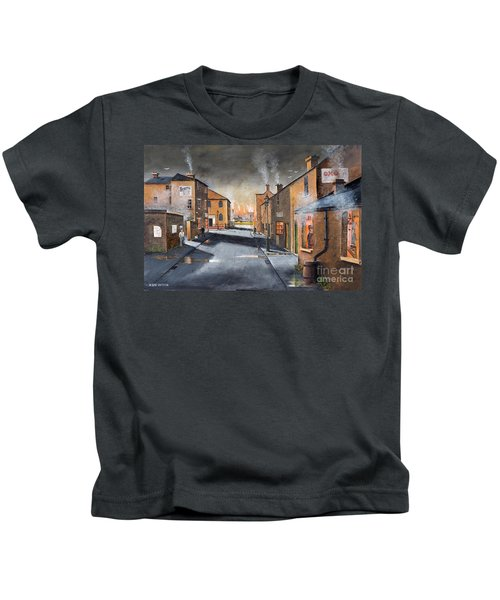 Black Country Village From The Boat Yard Kids T-Shirt