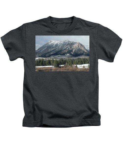 Boulder Mountains, Idaho Kids T-Shirt