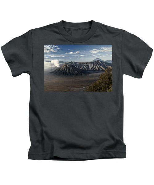 Bromo Mountain Kids T-Shirt