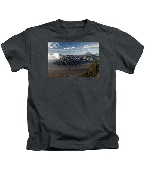 Bromo Mountain Kids T-Shirt