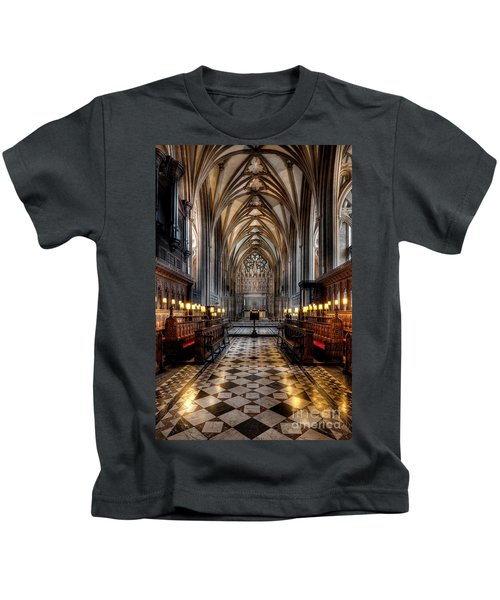 Church Interior Kids T-Shirt